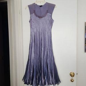 WORN ONCE! Komarov Beaded Neck 2-piece dress